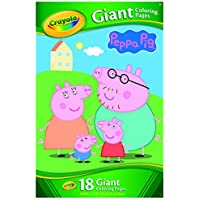 Crayola Giant Coloring Pages - Peppa Pig