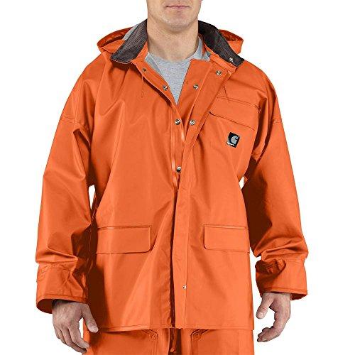 Carhartt Men's Surrey Coat, Orange, Large from Carhartt