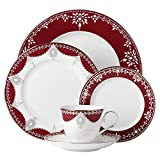 Lenox Marchesa Empire Pearl 5 Piece Place Setting Dinnerware Set, Wine For Sale