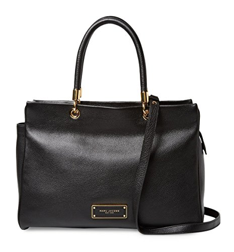 Marc By Marc Jacobs Leather Clutch (Marc Jacobs Too Hot to Handle Large Satchel Bag (Black))
