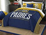 MLB San Diego Padres Grand Slam Two Sham Set, Blue, Full/Queen Size