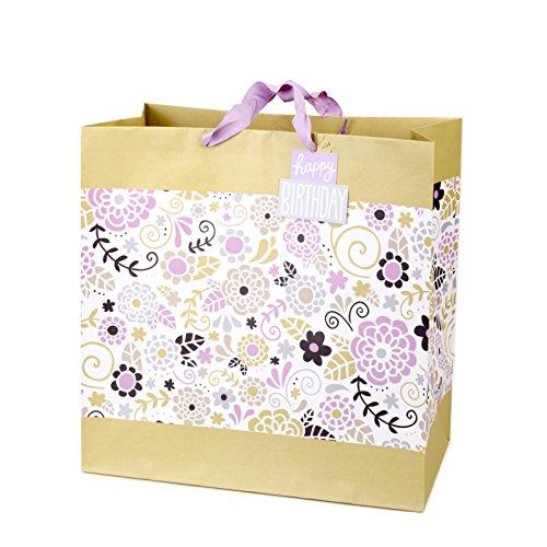 - Hallmark Grand Birthday Gift Bag (Floral)