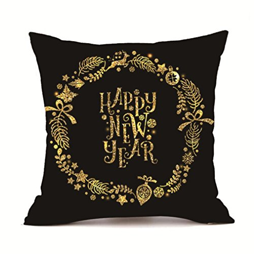 New Goods Sale!Pillow Cases ZYooh Throw Pillow Case Super Cashmere Sofa Cushion Cover Cafe Home Party Hallowmas Christmas Decor (B) (Happy Halloween Super Simple)