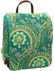 Amy Butler for Kalencom Sweet Traveler ultimate toiletry bag - Feather Paisley Peacock