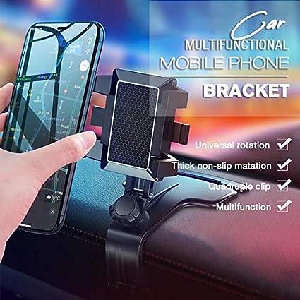 Cygg Armaturenbrett Handyhalterung 1200 Grad Handyhalterung Auto Rückspiegel Gps Navigation Halterung Tragbar Universal Elektronik