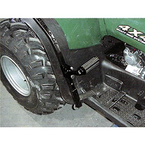 Square Tube Rear Fender Protector - Black For 2006 Polaris Sportsman 500 HO ATV