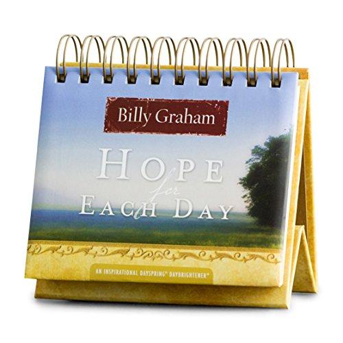 DaySpring Flip Calendar - Billy Graham - Hope for Each Day - 77910