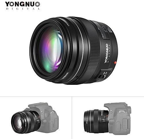 Yongnuo YN100mm F2 Primer Teleobjetivo Medio 100mm Fija la ...