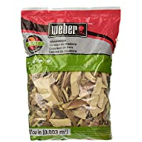 Weber Cubic Meter Stephen Products 17138 Chips de madera de Apple, 192 cu. pulg. (0.003 cubi
