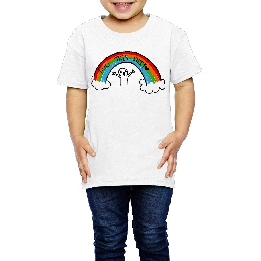 XYMYFC-E Fuck This Shit 2-6 Years Old Boys /& Girls Short Sleeve T Shirts