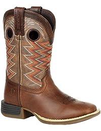 Lil' Rebel Pro Big Kid's Blue Western Boot