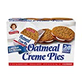 Little Debbie Oatmeal Creme Pies, 2.1 Ounce Twin Pack, 24 Count Club Pack