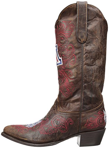 NCAA Arizona Wildcats Womens 13-Inch Gameday Boots Brass wU7SDFQ9r