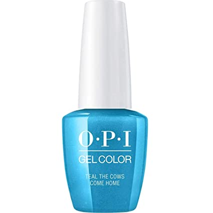 Amazon Com Opi Gel Color Teal The Cows Come Home Luxury
