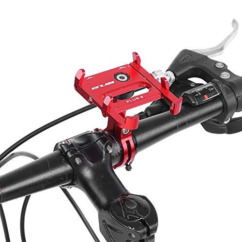 6 Road Fiets Mountainbike Mobiele Telefoon Houder Met 360 Graden Rotatie Mountainbike Accessoires Rood