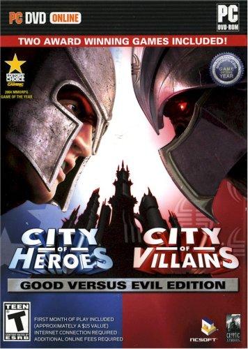 City of Heroes - Good vs. Evil (Heroes Versus Villains Costumes)