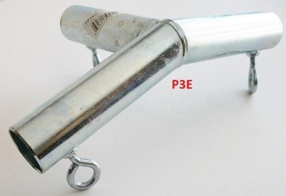 Golden Valley Tools & Tarps 3 way TOP END DOWN ANGLE LOW PEAK 3/4 CANOPY FITTING (P3EA) 3/4 pipe