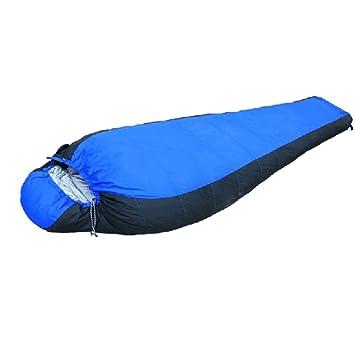 SHUIDAI Saco de Dormir Adulto al Aire Libre Saco de Dormir de Plumas Grueso -20 ° C Saco de Dormir de Invierno Pato Abajo , Blue: Amazon.es: Deportes y aire ...