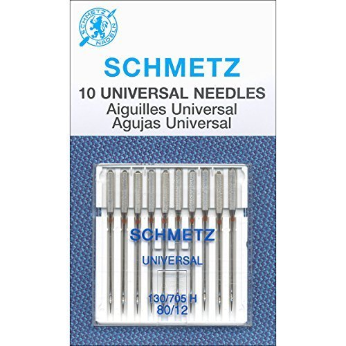 Schmetz Universal Needle Size 80/12 10pc (Best Sewing Machine Needles For Quilting)