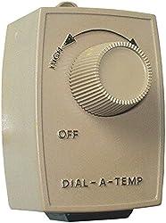 Vortex Powerfans Vtdat Dial-a-temp
