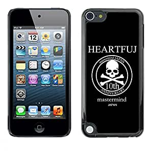 MOBMART Carcasa Funda Case Cover Armor Shell PARA Apple iPod Touch 5 - The Mastermind Anniversary