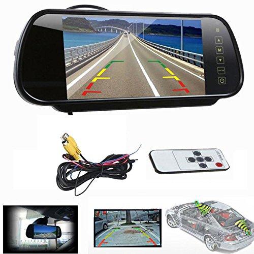 Dax 7 Pulgadas Monitor TFT LCD Camara De Vision Color Sistema De Cámara Retrovisor Visión Trasera Monitor de Coche Trasera Camara de Reserva del Coche: ...