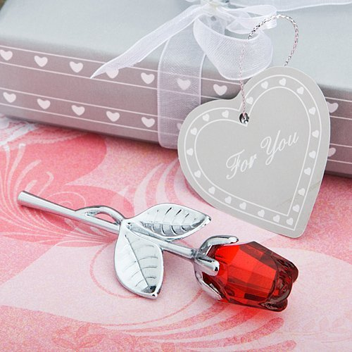 Choice Crystal Collection Red Rose Favors, 1