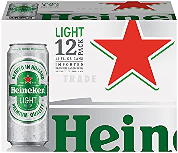 Image result for heineken light beer pictures