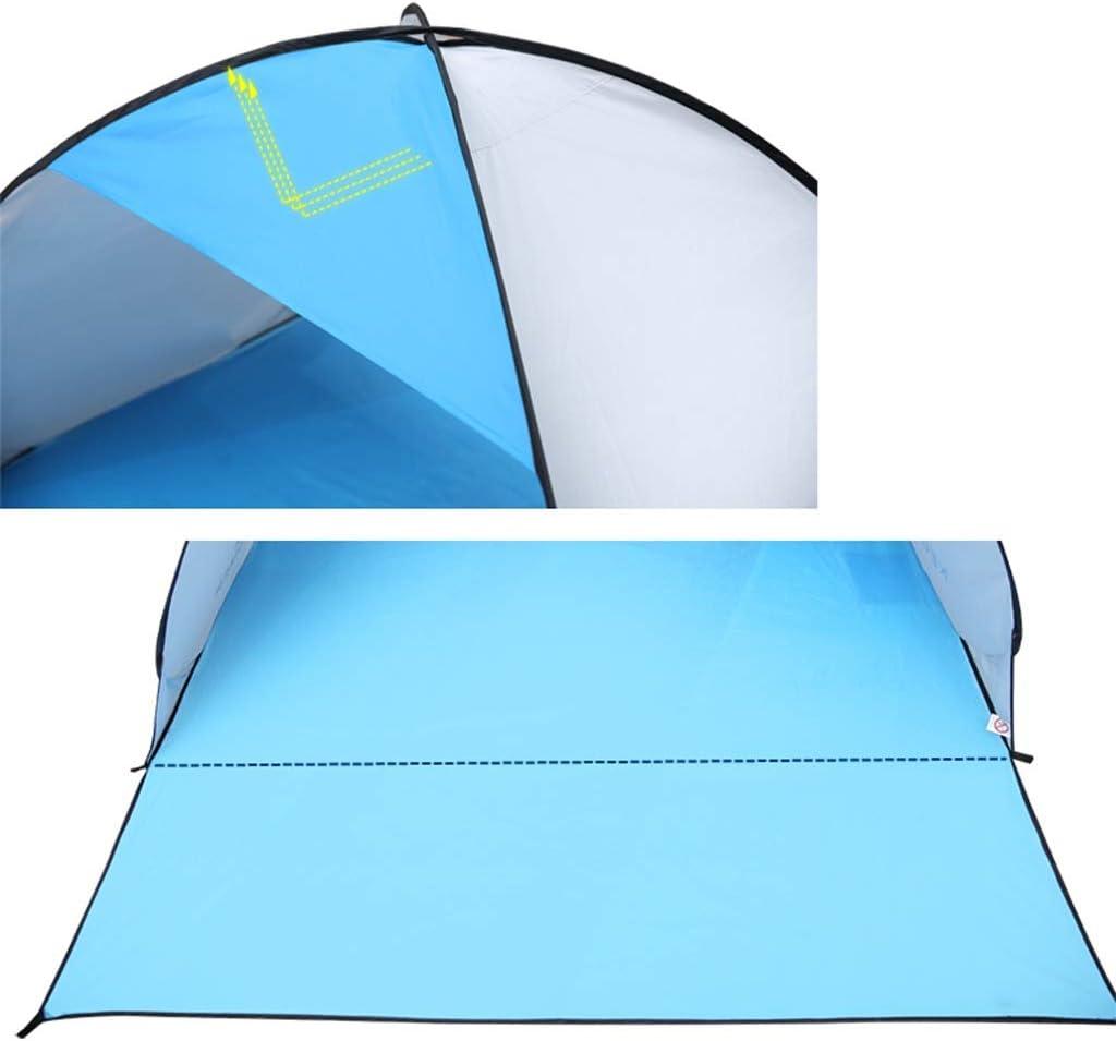 HUIYAN Camping Zelte Automatische Popup-Strandzelt | Tragbare UV Angeln Zelt | | 4 Farben Können 2-3 Personen Lichtzelt Aufnehmen Pink
