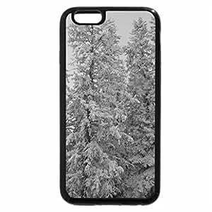 iPhone 6S Plus Case, iPhone 6 Plus Case (Black & White) - Winter in Alberta 15
