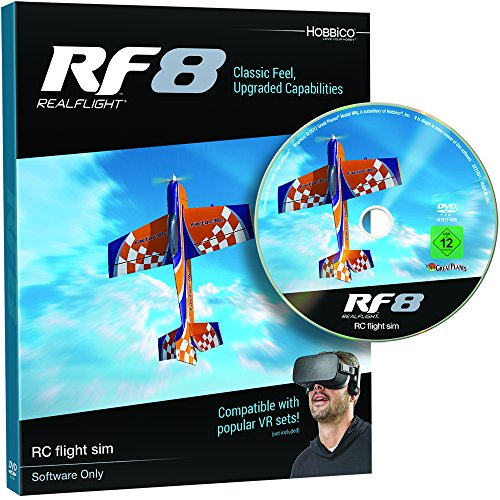 Great Planes RealFlight RF-8 RC Radio Control...