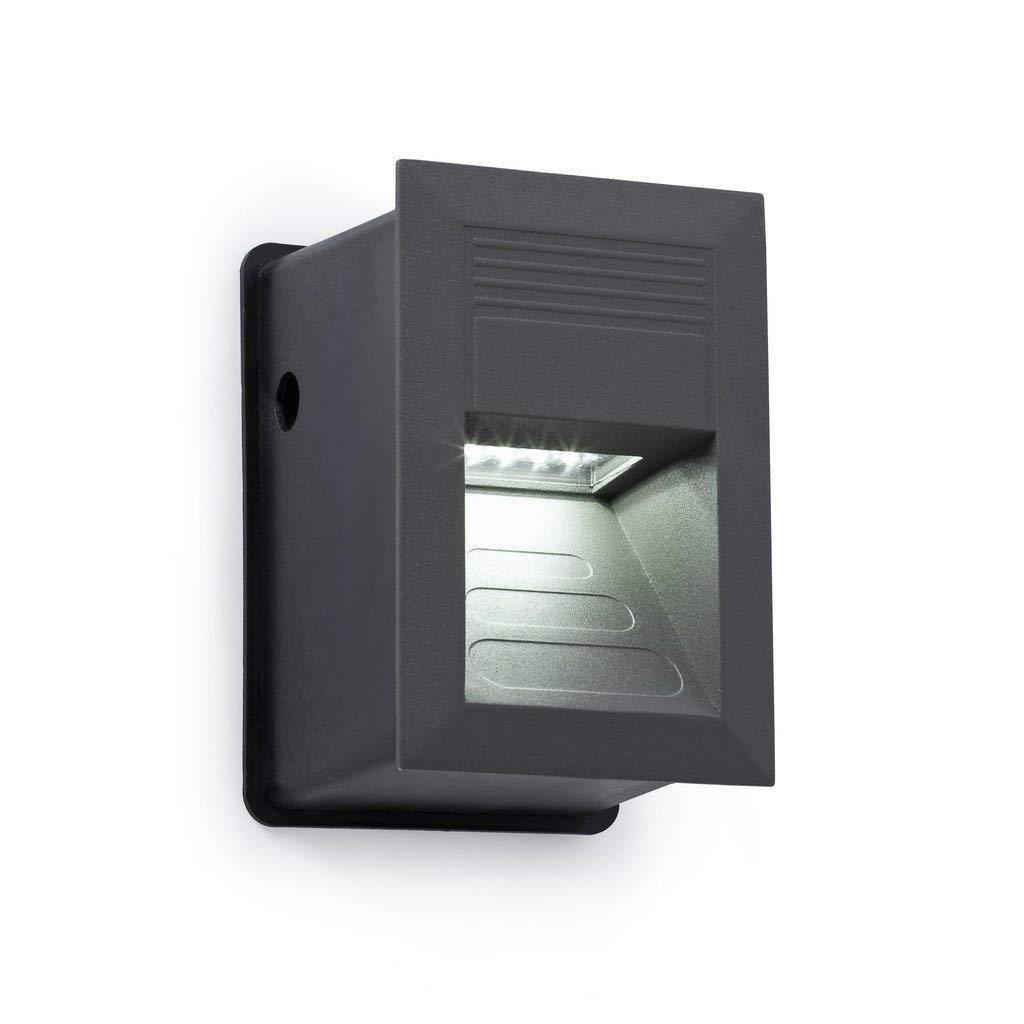 Faro 70401/ /Sula Lampe /à encastrer pour ext/érieur Gris fonc/é 15/LED 1/W 4000/K Faro Barcelona