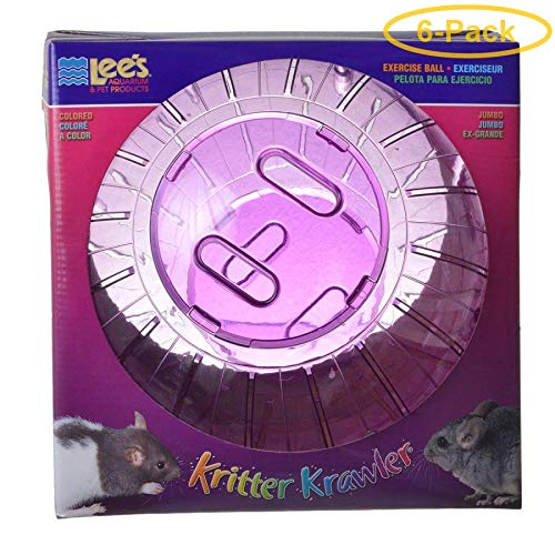 Lees Kritter Krawler - Assorted Colors Jumbo - 10'' Diameter - Pack of 6
