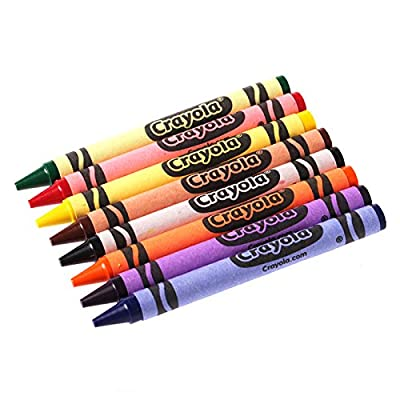 Crayola Classic Color Pack Crayons, 8 Colors/Box: Office Products