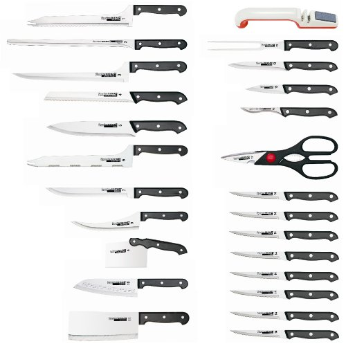 Ronco KN3008BLGEN Six Star+ 25-Piece Knife...