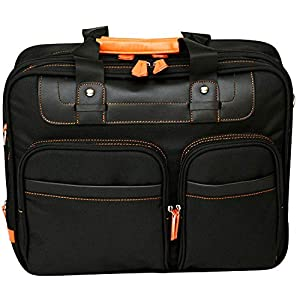 15.4″ Laptop Bag Briefcase Business Case Computer with Shoulder Strap