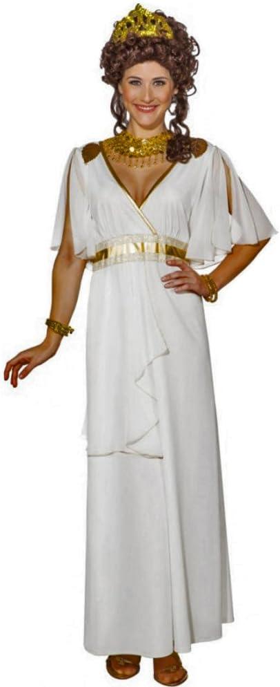 ORLOB KARNEVAL GmbH Disfraz de Mujer Diosa Griega Vestido Largo ...