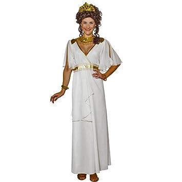 Kostüm Griechische Göttin Gr. 36- 46 langes Kleid weiß Antike ...