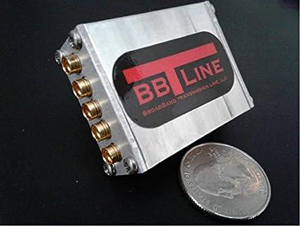 Combiner 500 MHz to 7 GHz Power Divider 2-Way RF Splitter SMP Connectors