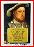 Sixteenth Century English Literature, Murray Roston, 0805207708