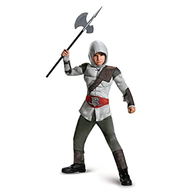 Disguise Boy's Assassin Muscle Costume: Toys & Games