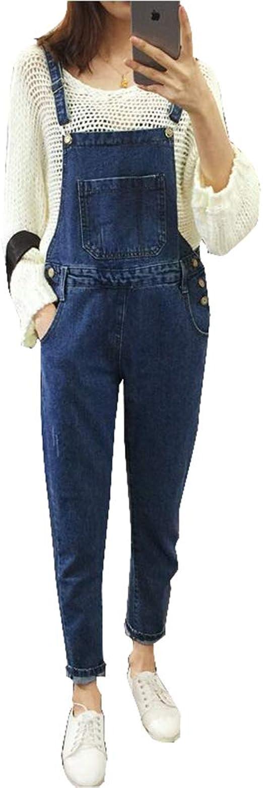 Casual Moda De Overol Jeans Playsuit Largo Gaga City Mono Vaquero De Mujer Pantalones Con Peto De Trabajo Para Mujer Overall Denim Overol De Mezclilla Petos