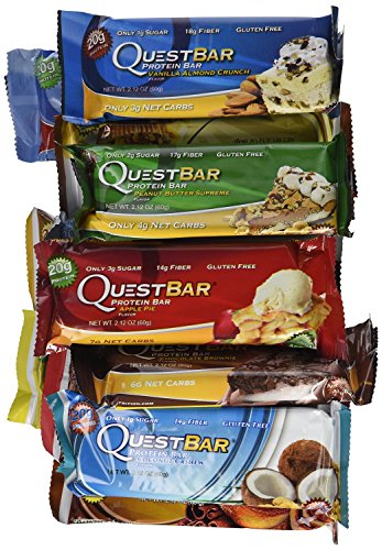 Quest nutrition quest bar variety box for Muscle food quest bar