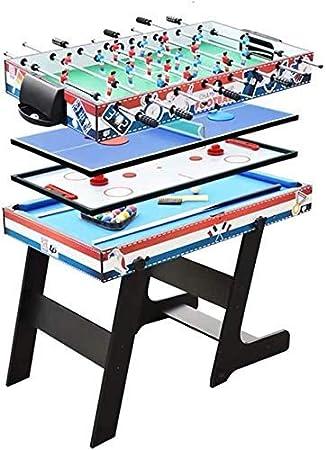 Cuatro en una Tabla de múltiples Funciones for la máquina de fútbol Mesa de Billar Tenis Hockey Tabla multijugador Tabla Interactiva Juego de Pelota Juego de Mesa for niños de más de 5 años Los niños