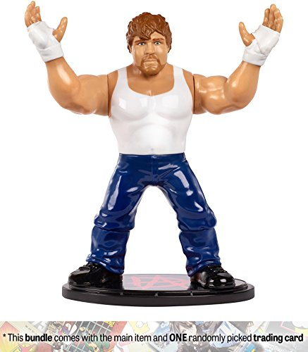 Dean Ambrose: WWE Retro App Action Figure + 1 Official WWE T