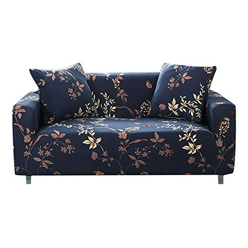 FORCHEER Sofa Slipcover Stretch Printed Pattern Couch Cover Fitted Sectional Sofas for Living Room(Big Sofa,#Pattern Floral)