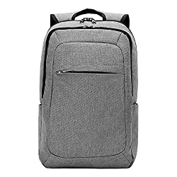 Kopack Slim Business Laptop Backpacks Anti Thief Tear Water Resistant Travel Bag Fits Up To 15 15.6 Inch Macbook Computer Backpack In Gray