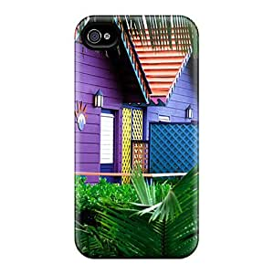 Case Cover Carribean House/ Fashionable Case For Iphone 4/4s