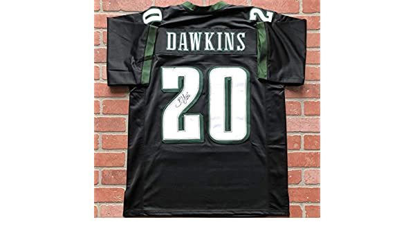 separation shoes 61c70 724a8 Brian Dawkins autographed signed jersey NFL Philadelphia ...