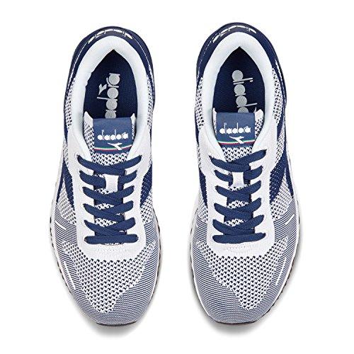 Diadora Titan Weave Sneaker Uomo C6754 - Bianco-bianco-estate Blue